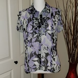 East 5th dress blouse